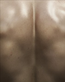 C4D模型男性后背人物图片
