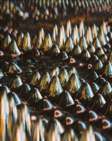 C4D模型金属表面抽象图片