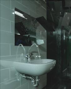 C4D模型卫生间水池厕所图片