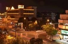 南通的夜景图片