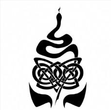 蛇图腾图片