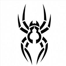 蜘蛛雕刻图图片
