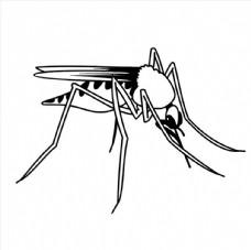 蚊子矢量图图片