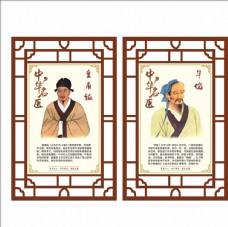 中华名医皇甫谧华佗图片