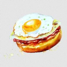 手绘早餐图片