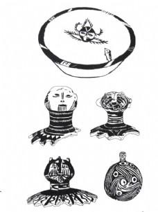 新石器时期纹样图片