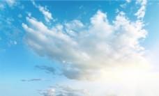 天空背景墙图片