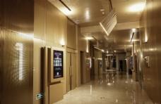 博纳影城江北天街店过道走廊实拍图片