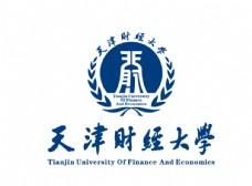 天津财经大学校徽LOGO图片