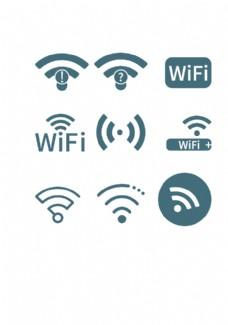VI导视系统wifi标识图片