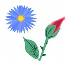 花朵素材矢量图片