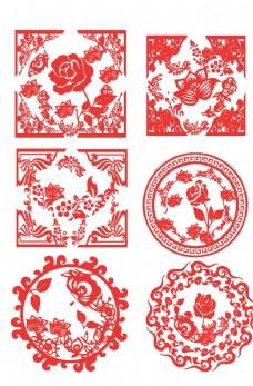 中国风花纹图片
