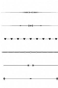 花纹分割线图片