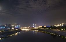 武汉汉江夜景图片