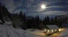 风景雪景图片