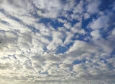 晴天天空图片