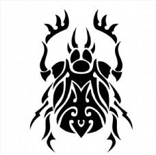 甲壳虫矢量图图片