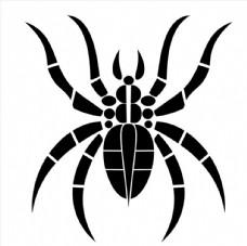 蜘蛛矢量图图片