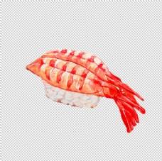 虾寿司图片