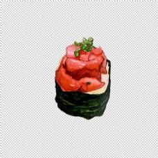 螺肉寿司图片