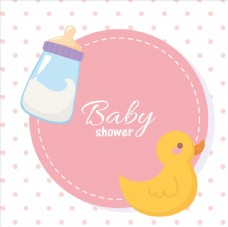 婴儿洗礼卡片图片