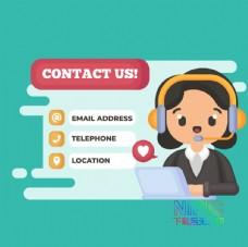 素材商务contact报告图片