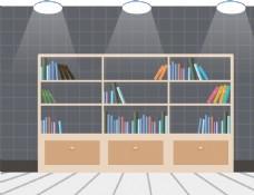 书柜浅色图片