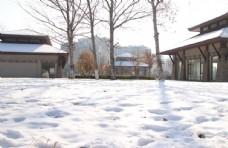 雪乡积雪图片
