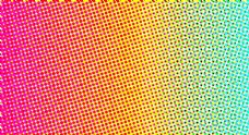 彩色半调背景图片