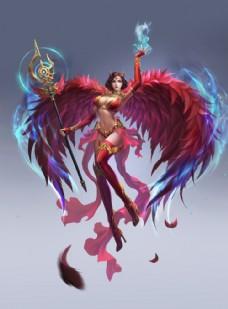 游戏人物元素图片